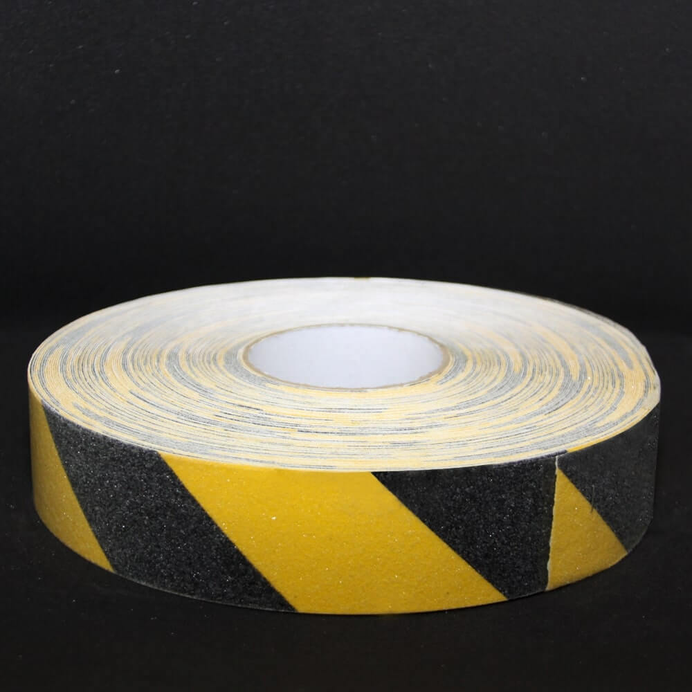 Black & Yellow Safety Tape